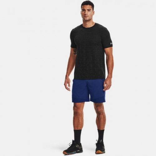 Clothing - Under Armour Seamless Wordmark Short Sleeve 1134   Fitness