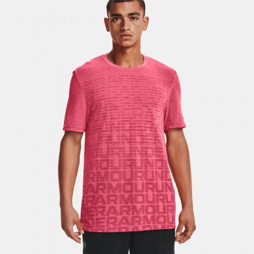 Clothing - Under Armour Seamless Wordmark Short Sleeve | Fitness