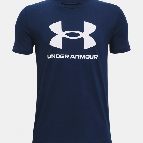 Clothing - Under Armour Sportstyle Logo Short Sleeve 3282 | Fitness