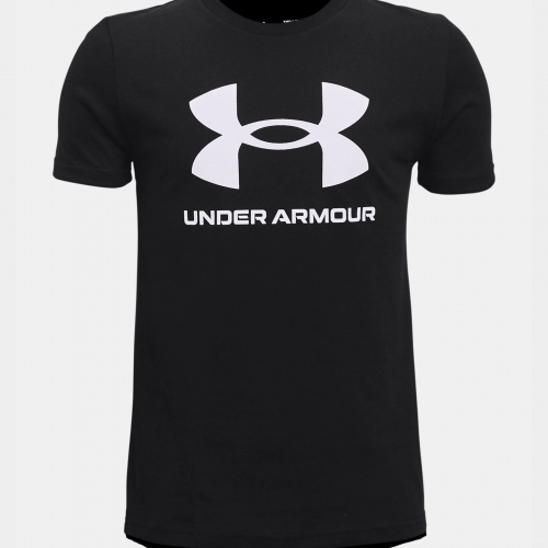 Clothing - Under Armour Sportstyle Logo Short Sleeve 3282 | Fitness