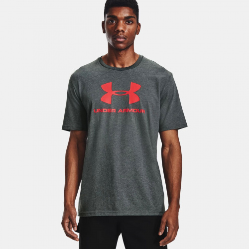 Clothing - Under Armour Sportstyle Logo Short Sleeve 9590 | Fitness