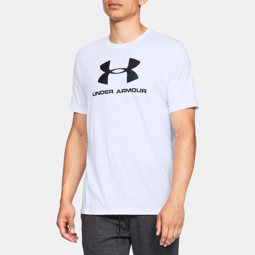 Clothing - Under Armour Sportstyle Logo Short Sleeve 9590 | Fitness