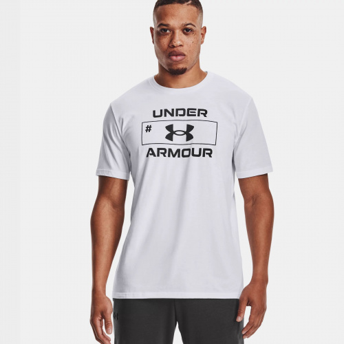 Clothing - Under Armour UA Number Script Short Sleeve | Fitness