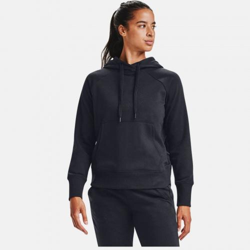 Clothing - Under Armour UA Rival Fleece Metallic Hoodie 6323 | Fitness