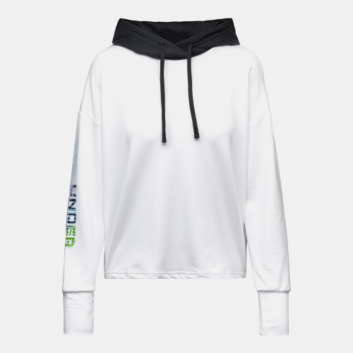 Clothing - Under Armour UA Rival Terry Geo Hoodie | Fitness