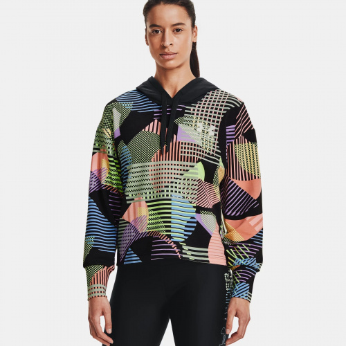 Clothing - Under Armour UA Rival Terry Geo Print Hoodie | Fitness