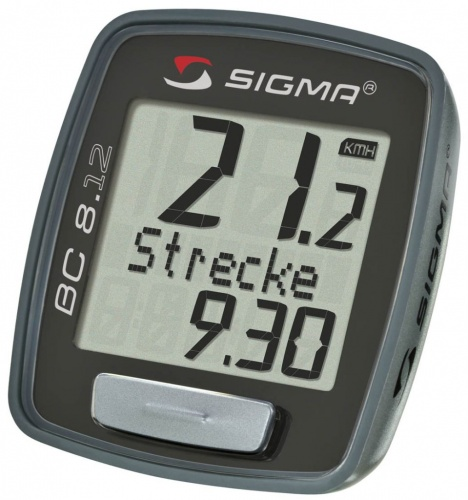 Bike Cyclocomputer - Sigma Sigma BC 8.12 | Bike-accesories