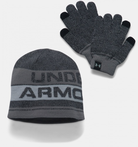 Accessories - Under Armour Beanie & Glove Combo Set 0443 | Fitness