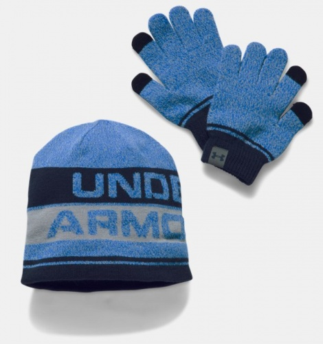 Accessories - Under Armour Beanie & Glove Combo Set | fitness