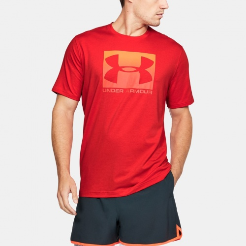 Clothing - Under Armour Boxed Sportstyle T-Shirt | fitness