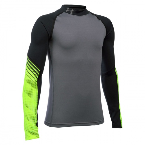 Clothing - Under Armour Boys ColdGear Armour Up Mock 0740 | Fitness