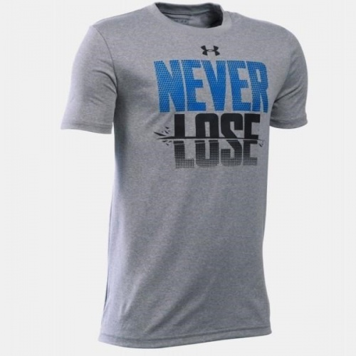 Clothing - Under Armour Boys Never Lose T-Shirt 0837 | Fitness