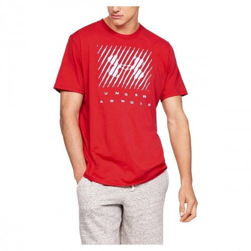 Clothing - Under Armour Branded Big Logo Short Sleeve 9588 | Fitness