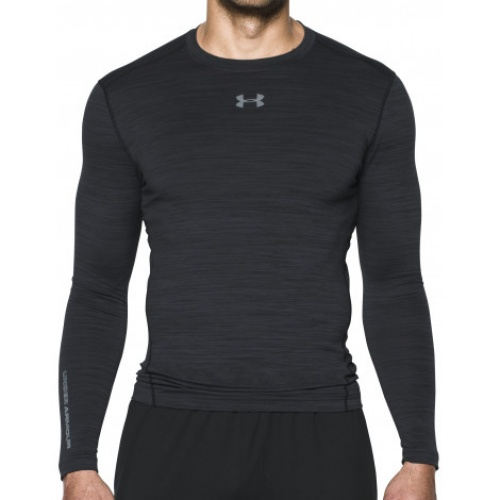 Clothing - Under Armour ColdGear Armour Twist Crew Compression LS 0797 | Fitness
