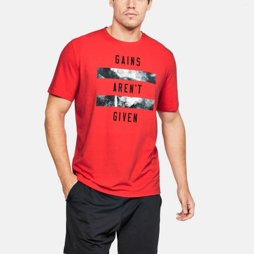 Clothing - Under Armour Gains Aren t Given T-Shirt | fitness