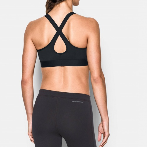 Clothing - Under Armour Mid Crossback Bra | fitness