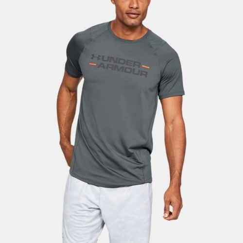Clothing - Under Armour MK-1 Wordmark Short Sleeve Shirt 7248 | Fitness
