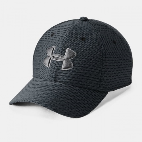 Accessories - Under Armour Printed Blitzing 3.0 Stretch Fit Cap 5038 | Fitness