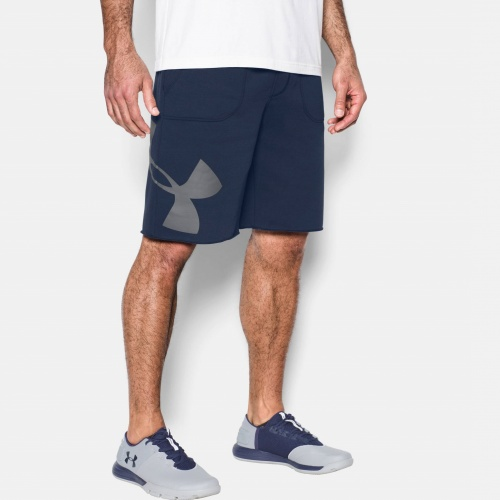 Clothing - Under Armour Rival Fleece Logo Shorts | fitness