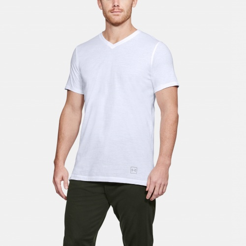 Clothing - Under Armour Sportstyle Core V-Neck T-Shirt 6492 | Fitness