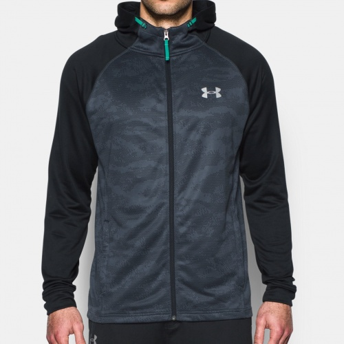 Image of: under armour - Tech Terry Fitted Hoodie