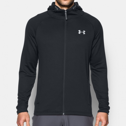 - Under Armour Tech Terry Fitted Hoodie |