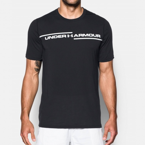 Clothing - Under Armour Threadborne Cross Chest T-Shirt 9158 | Fitness