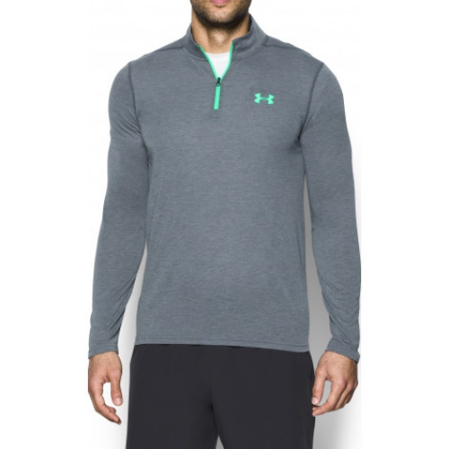 Clothing - Under Armour Threadborne Fitted 1/4 Zip 0270 | Fitness