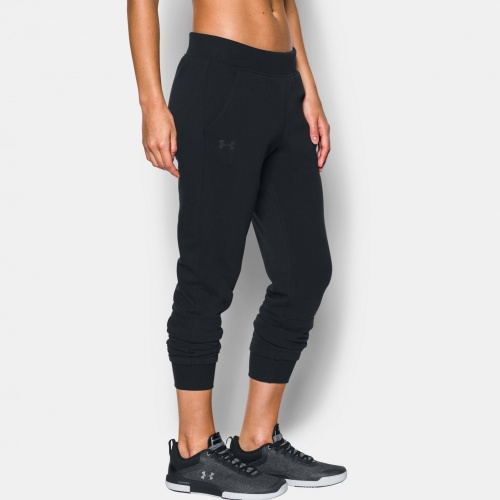 Clothing - Under Armour Threadborne Fleece Crop Pants 0291 | Fitness