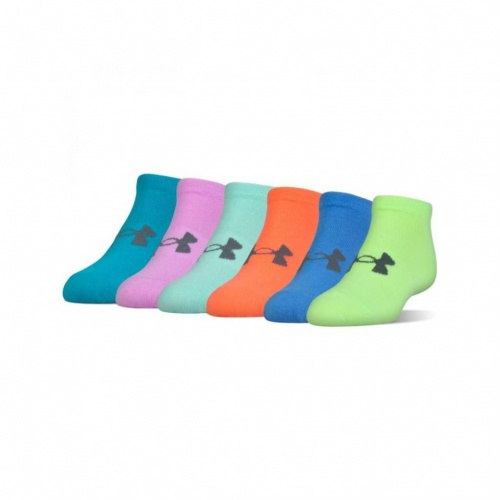 Accessories - Under Armour UA Solid No Show Socks 6-Pack | Fitness
