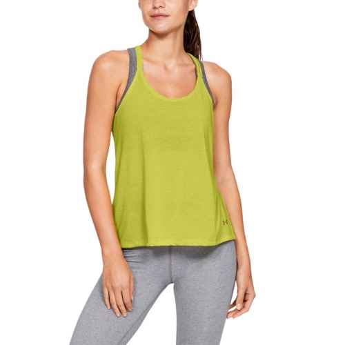 Clothing - Under Armour Whisperlight Foldover Tank 8902 | Fitness