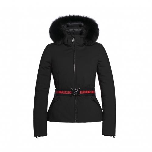 Ski & Snow Jackets - Goldbergh Hida Real Fur Sofsthell Jack | Snowwear